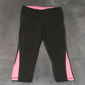 Old Navy Large Tall Capri workout pink